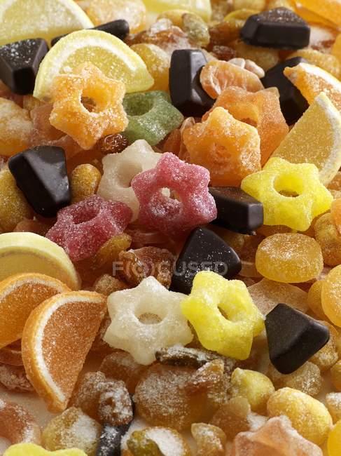 Anelli di gelatina, gelatina di frutta — Foto stock