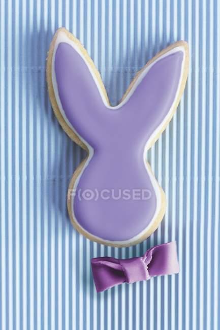 Пасхальный заяц печенье — стоковое фото