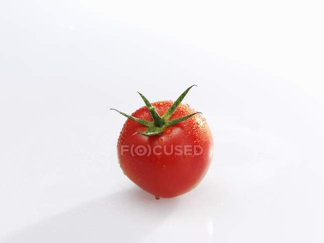Fresh ripe tomato — Stock Photo