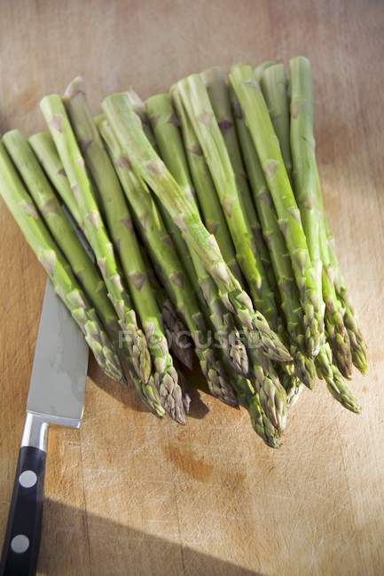 Green asparagus branches — Stock Photo