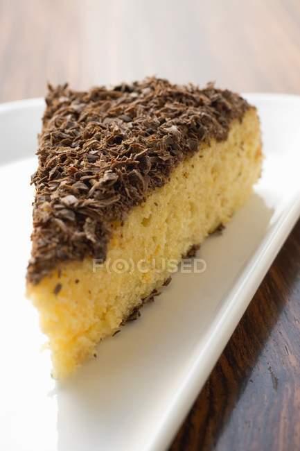 Алмонд рикотта торт — стоковое фото