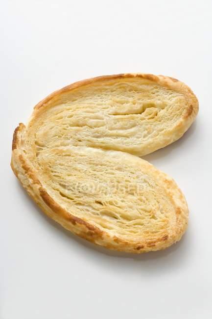 Sweet Palmier pâte feuilletée — Photo de stock