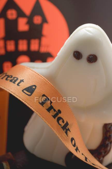 Fantôme chocolat blanc — Photo de stock