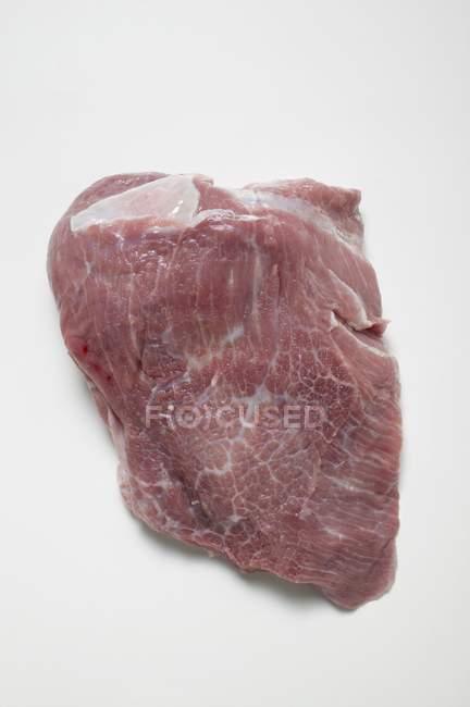 Rohes Schweineschnitzel — Stockfoto