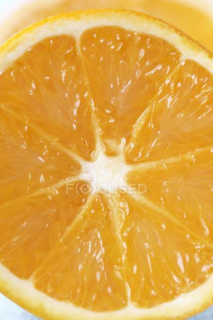 Fresh halved orange — Stock Photo
