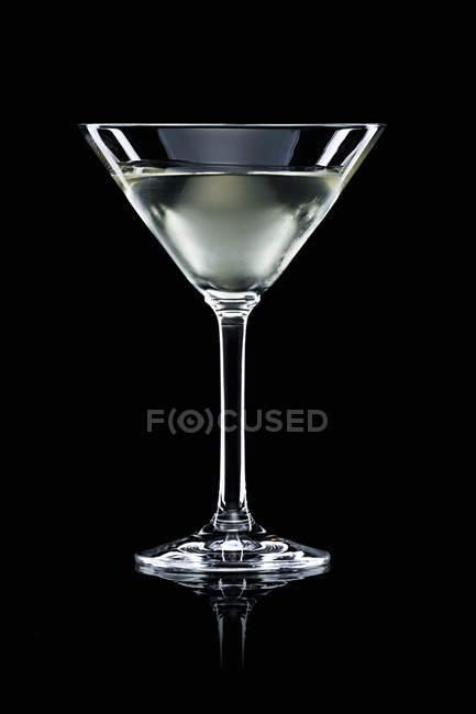Vodka Martini in glass — Stock Photo