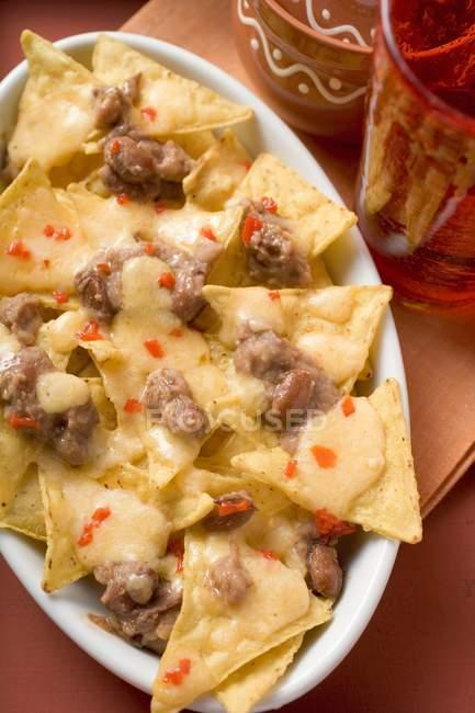 Croustilles de tortilla au fromage — Photo de stock
