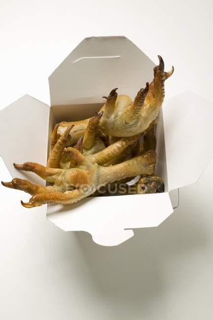 Deep-fried chicken feet — Stock Photo