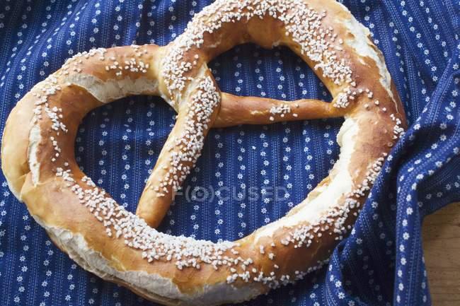 Баварські крендель солоний — стокове фото