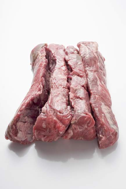 Четыре говяжье филе — стоковое фото