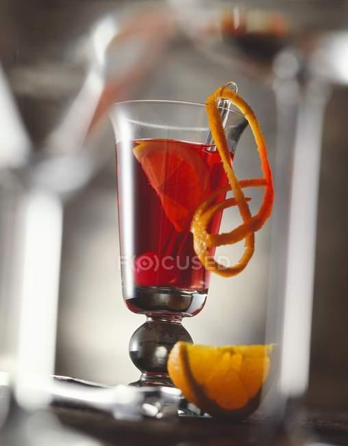 Campari Orange cocktail — Stockfoto