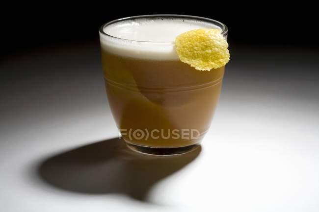 Bourbon-Cocktail im Glas — Stockfoto