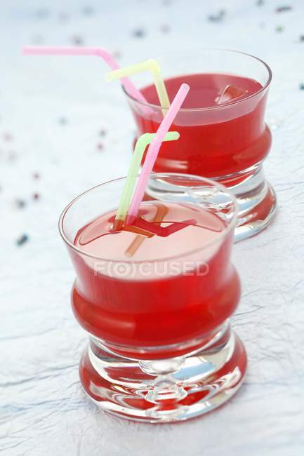 Non-alcoholic drink of grenadine — Stock Photo