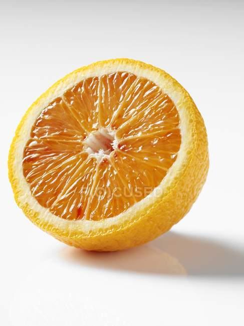 Mezzo sangue arancione — Foto stock