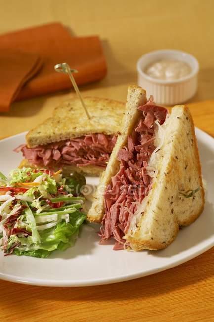 Corned Beef Sandwich — Stock Photo