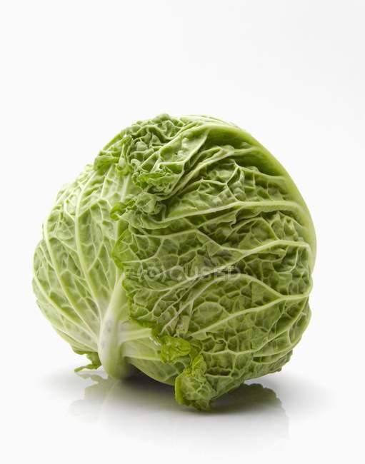 Вся голова капусты — стоковое фото
