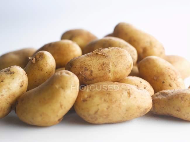Frische rohe kartoffeln — Stockfoto