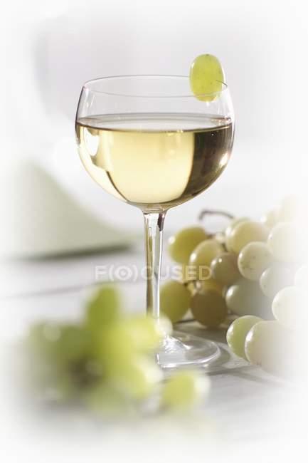 Succo d'uva in vetro — Foto stock