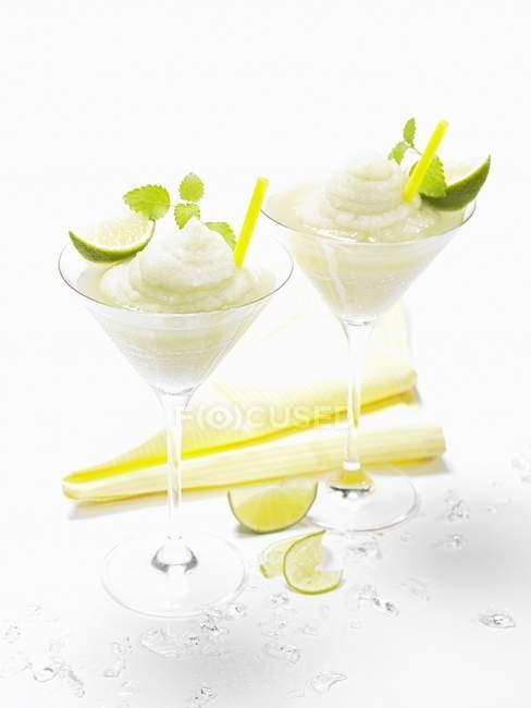 Vodka au citron congelée — Photo de stock