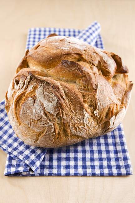 Rustic loaf of bread — Stock Photo