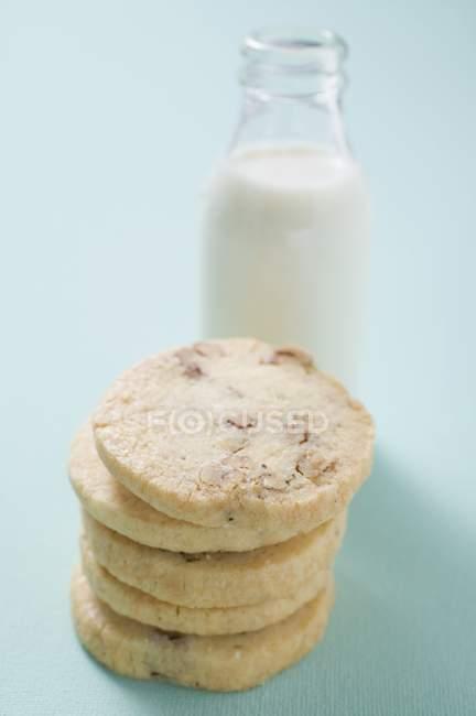 Biscuits noix de pile — Photo de stock