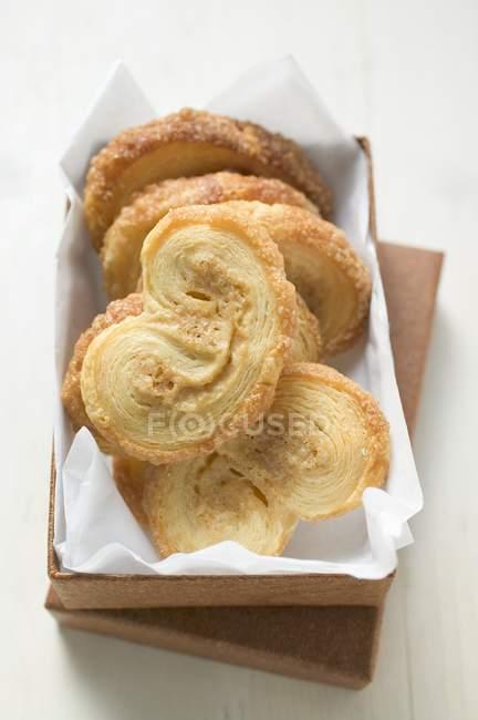 Biscuits de pâte feuilletée — Photo de stock