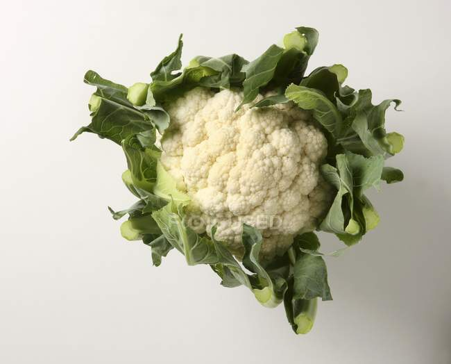 Cauliflower from above, close-up view — Stock Photo
