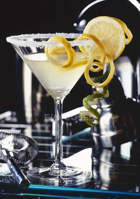 Glass of Daiquiri cocktail — Stock Photo