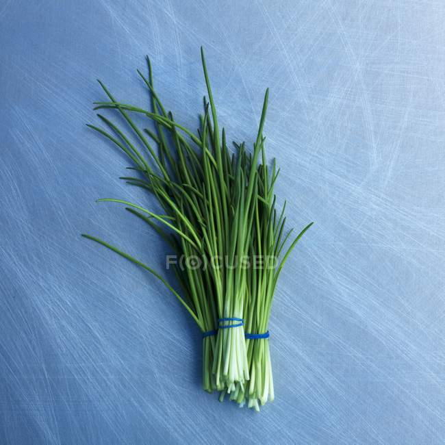 Bunches of fresh chives — Stock Photo