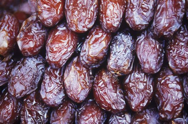 Dried brown dates — Stock Photo