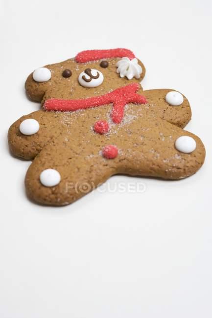 Lebkuchen-Teddybär — Stockfoto