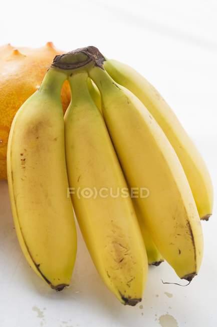 Bunch of ripe bananas — Stock Photo