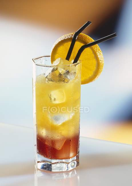 Campari Orange cocktail — Stock Photo