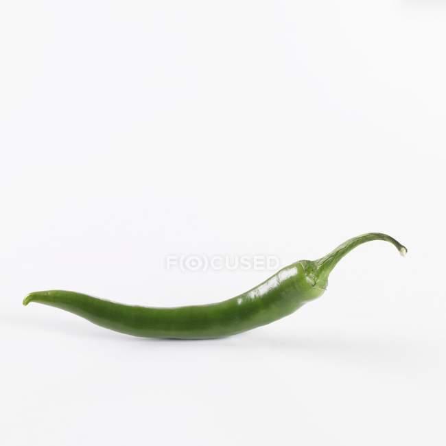 Ripe green chilli — Stock Photo