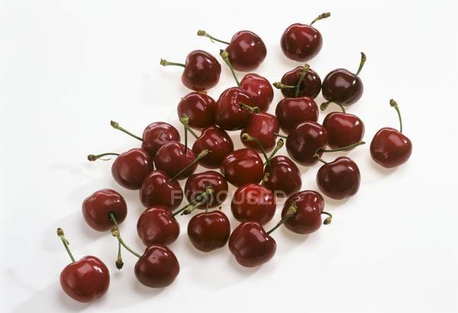 Fresh ripe Cherries — Stock Photo
