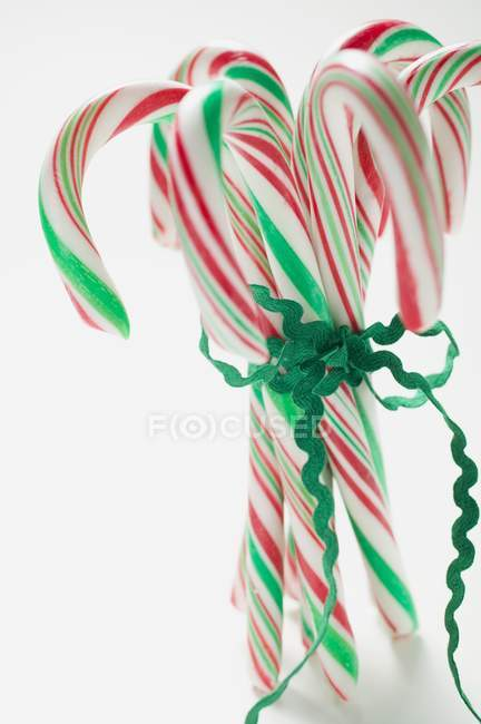 Several candy canes — Stock Photo