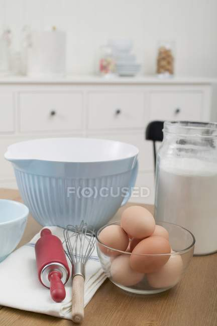 Various baking utensils — Stock Photo