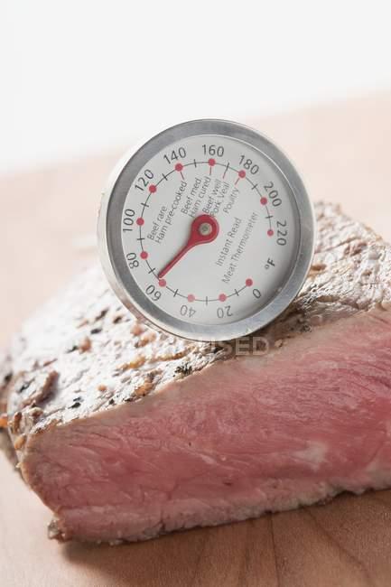 Bifteck de surlonge — Photo de stock