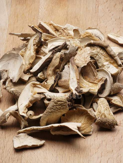 Shiitake mushrooms, close-up — Stock Photo