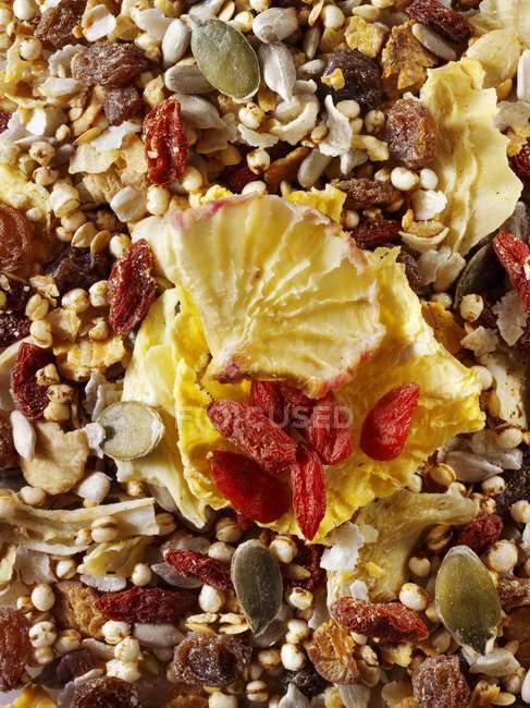 Gluten free muesli — Stock Photo