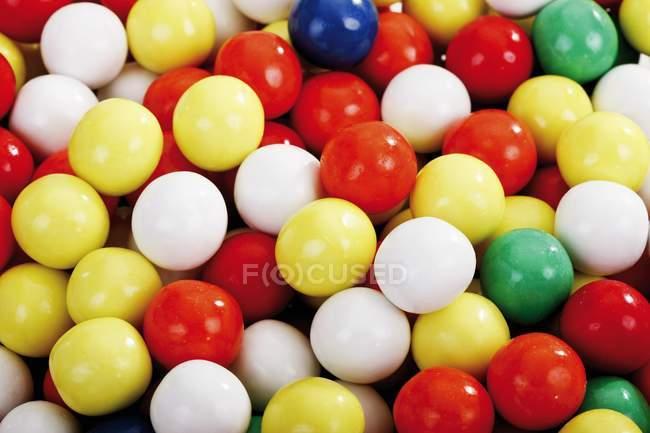 Close up of Mixed gumballs — Stock Photo