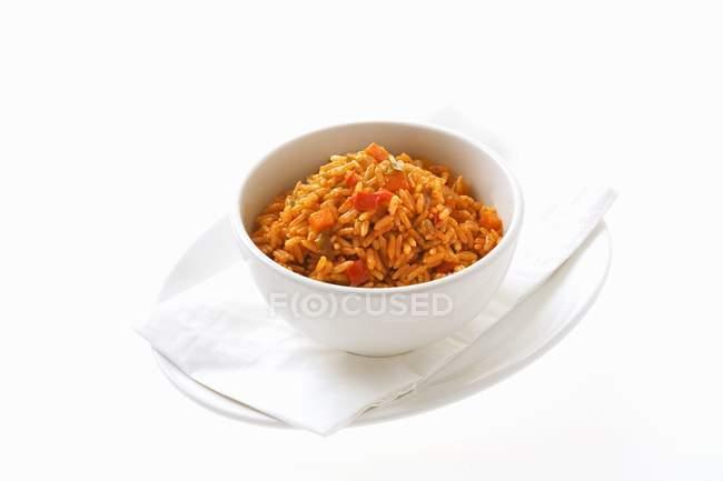 Мексиканские Овощной рис — стоковое фото