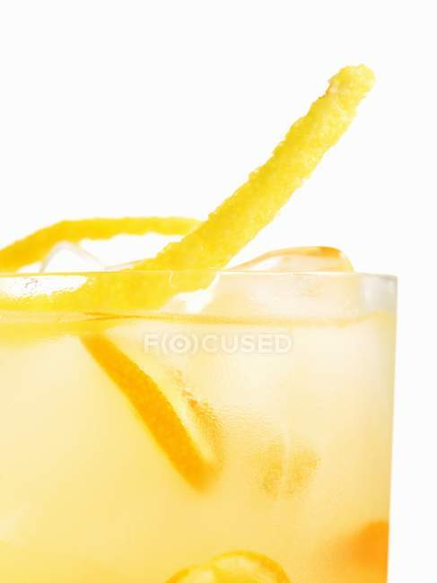 Cocktail Garniture en verre — Photo de stock