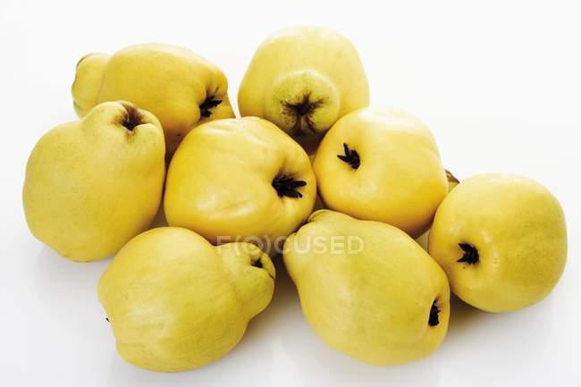 Fresh ripe Quinces — Stock Photo