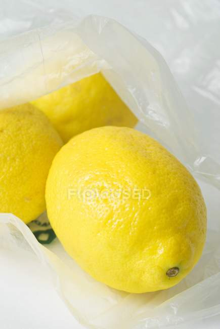Fresh ripe lemons — Stock Photo