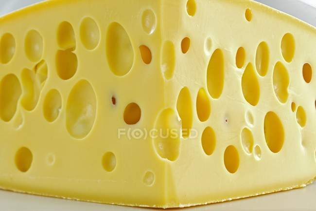 Tasty Emmental cheese — Stock Photo