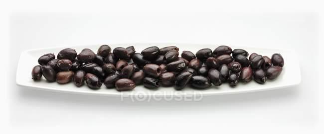 Olives noires kalamata — Photo de stock