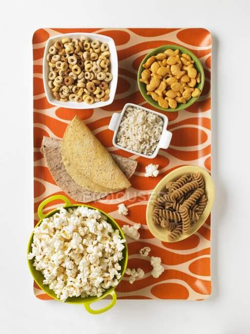 Produkte auf Getreidebasis — Stockfoto