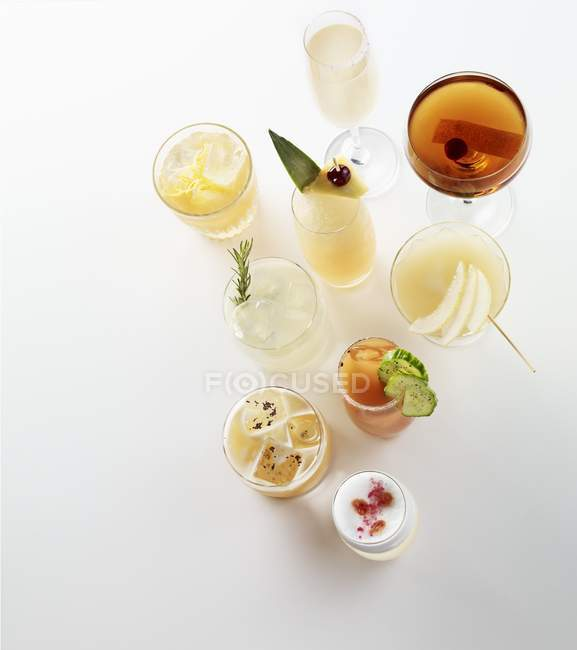 Vari cocktail estivo — Foto stock