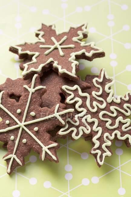 Biscotti di Natale a forma di stella — Foto stock